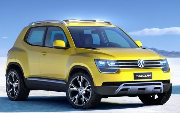 volkswagen taigun to showcase at auto expo 2014 a compact suv car india on roads. Black Bedroom Furniture Sets. Home Design Ideas