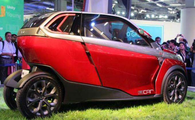 Bajaj Auto Concept Car U Revealed At Auto Expo 2014