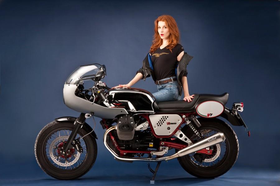 Moto Guzzi V7 Stone Motorcycle Showcase At Auto Expo 2014