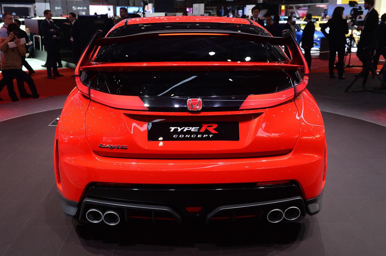 Honda Civic Type R Concept Revealed At Geneva Motor Show