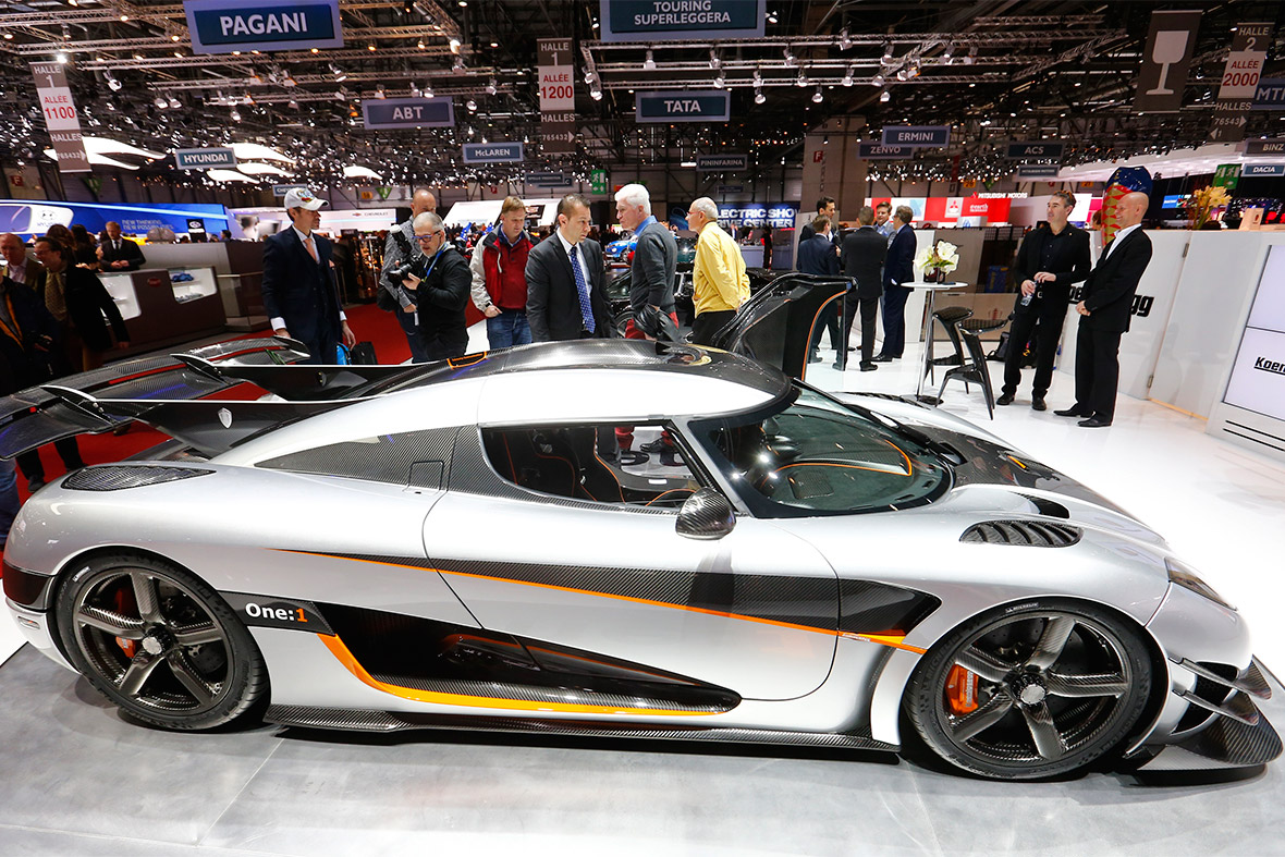 The Koenigsegg Agera One:1 – claim to be worlds fastest car made its ...