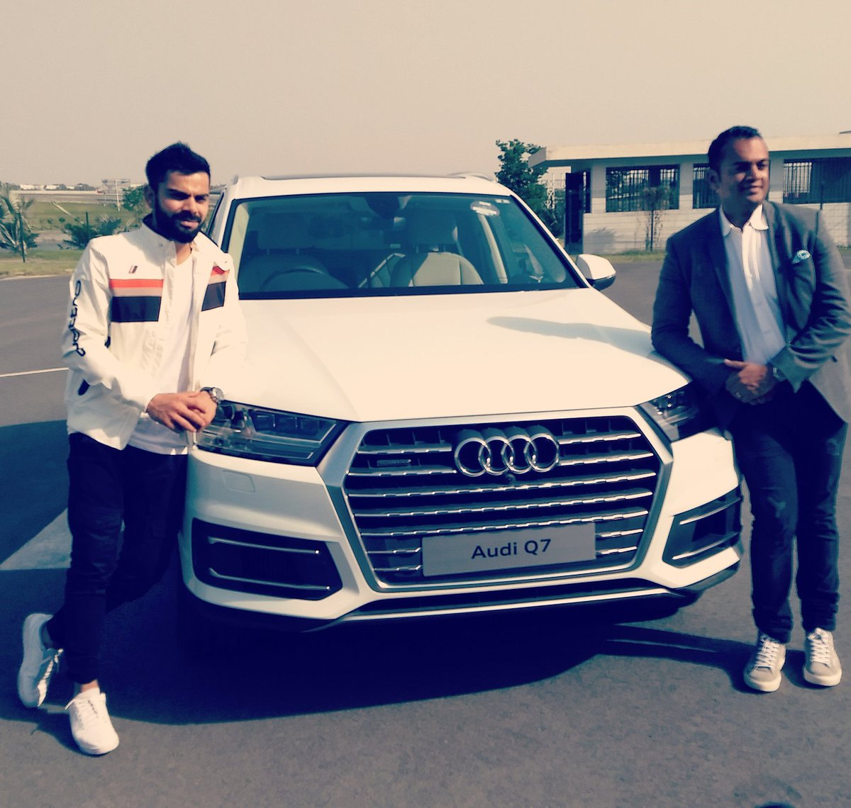 Audi India Gifts Indian Cricket Team Captain Virat Kohli A