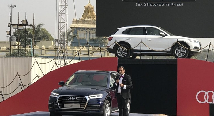 2018 Audi Q5 New Version Launched In India At Rs  53 25 Lakh
