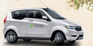 Mahindra partners with Rental Startup Zoomcar to introduce Self Drive Electric Cars on Rent