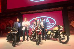 Mahindra launched Motorcycle Brand Jawa Back in India after a gap of 22 years with Three New Bikes named Jawa, Jawa Forty Two and the Jawa Perak bobber