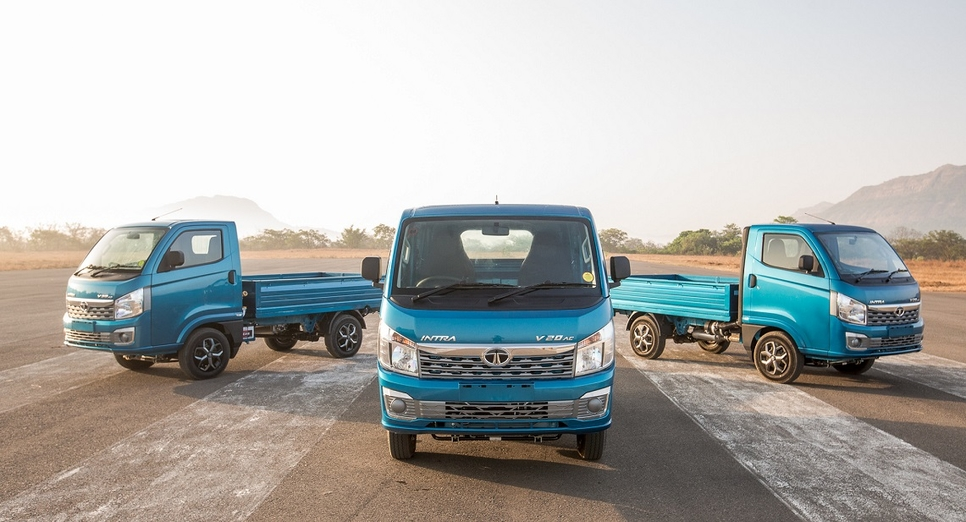 Tata Motors launches India's First Compact Truck Tata INTRA
